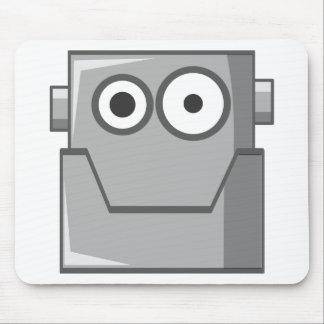 Robot Head Mouse Pad