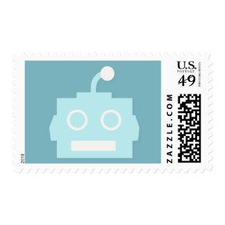Robot Head Stamp
