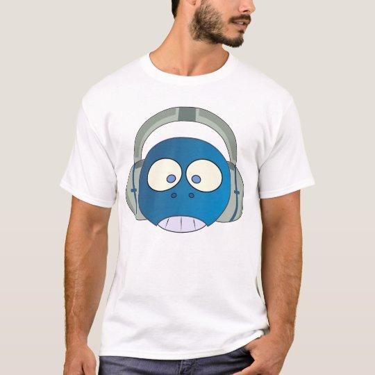 robot headphones T-Shirt