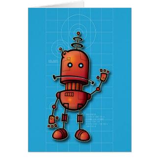 Robot Hello Card