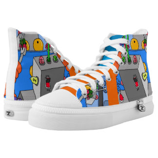 Robot high tops by DAL