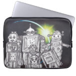 Robot Holiday 13 Laptop Sleeves