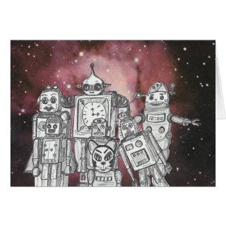 Robot Holiday 1 Card