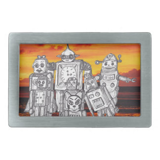 Robot Holiday 3 Belt Buckles