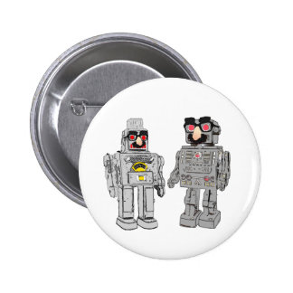 Robot in disguise button