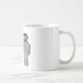 Robot in disguise coffee mug