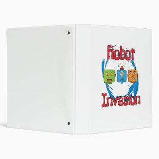 Robot Invasion Binder