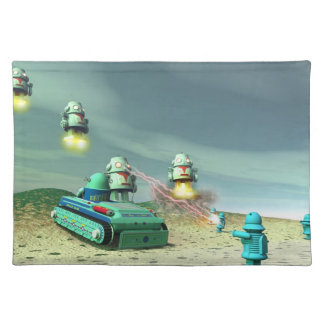 Robot Invasion From Above American MoJo Placemats