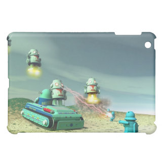 Robot Invasion From Above Speck Case Case For The iPad Mini