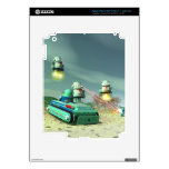 Robot Invasion From Above Zazzle Skin iPad 3 Decal