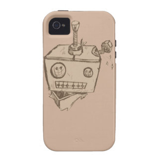 Robot iphon 4/4s case iPhone 4 cover