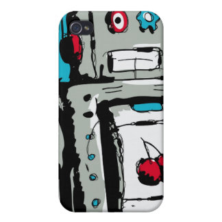 Robot iPhone iPhone 4 Cover