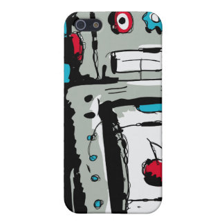 Robot iPhone iPhone 5 Cover