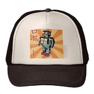 Robot japonés 1 del juguete gorra