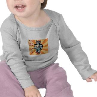 Robot japonés 1 del juguete camiseta