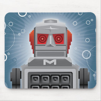Robot japonés Mousepad del vintage