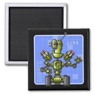 Robot Jinx magnets