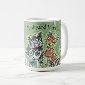 Robot Junkyard Cat And Dog CLASSIC MUG *Customize