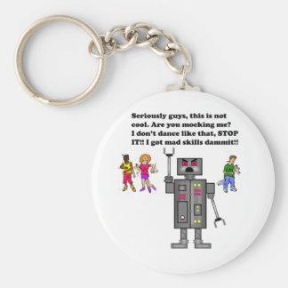 robot, keychains