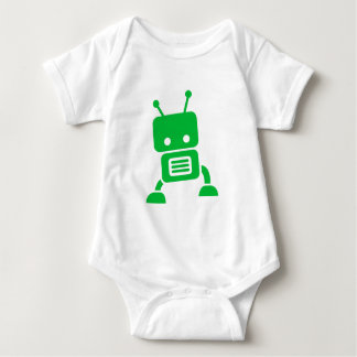 Robot Kid and Baby Clothes Baby Bodysuit