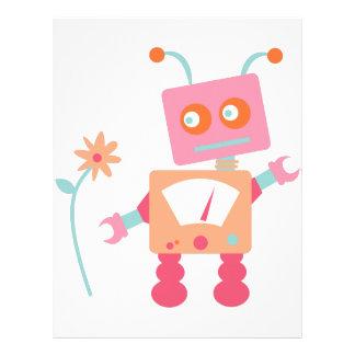 Robot Letterhead