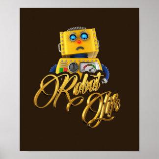 Robot Life Poster