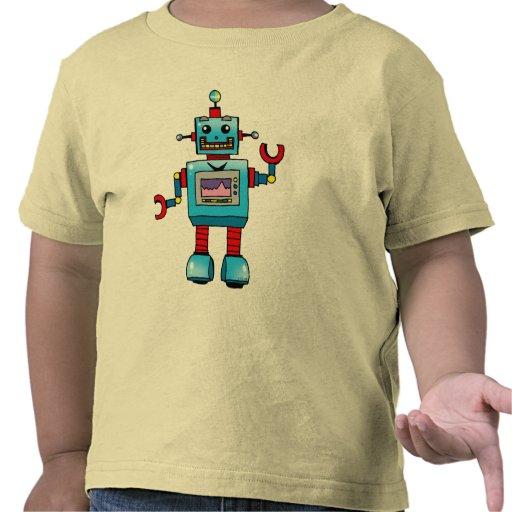 Robot lindo camiseta