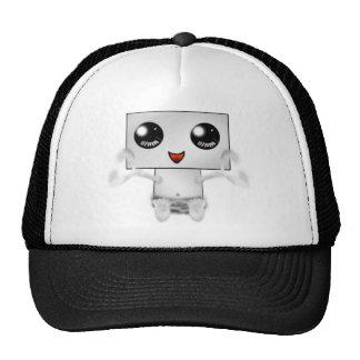Robot lindo gorras de camionero