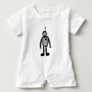 Robot Love baby or kid romper