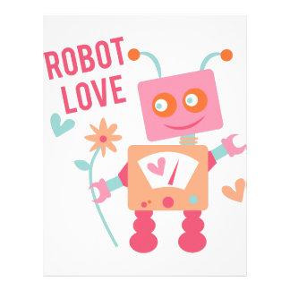 Robot Love Letterhead