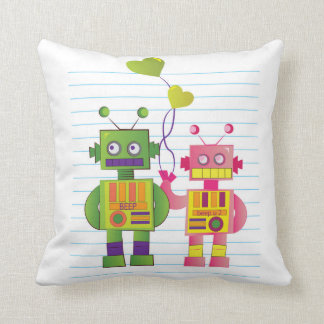 Robot Love Pillow
