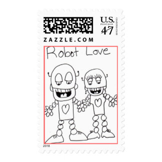 Robot Love Postage