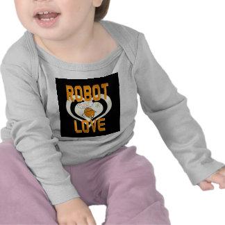 Robot Love T Shirt