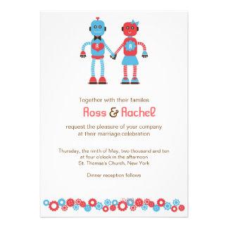 Robot Love Wedding Invitations