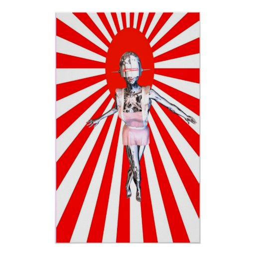 robot maid poster