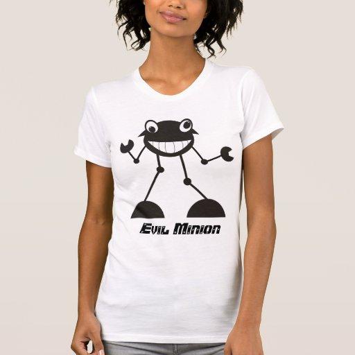 ¡Robot malvado tonto - subordinado malvado! Camisetas