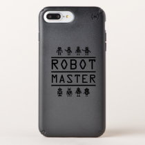 Robot Master Robotics Engineering Program Stream Speck iPhone Case