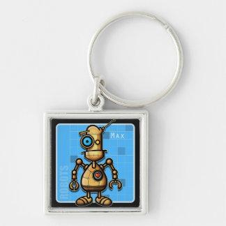 Robot Max Keychain