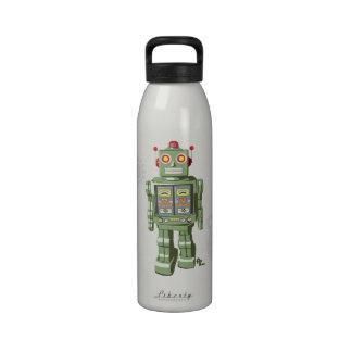 Robot mecánico Waterbottle del juguete Botallas De Agua