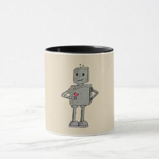 Robot meets a Bird Mug