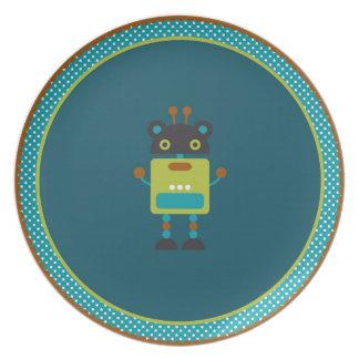 Robot Melamine Plate