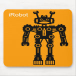 Robot Mk I (iRobot) - Orange Mouse Mats