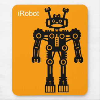 Robot Mk I (iRobot) - Orange Mouse Pad