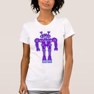 Robot Mk I - (púrpura y Lt Blue) - modificado para Camisas