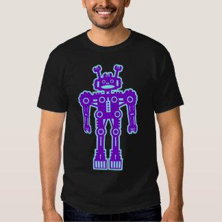 Robot Mk I - (púrpura y Lt Blue) - modificado para Playeras
