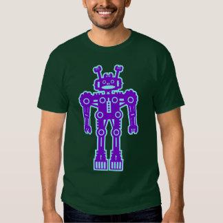 Robot Mk I - (púrpura y Lt Blue) Playera