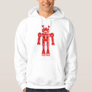 Robot Mk I - (Red) - Customized Hoodie