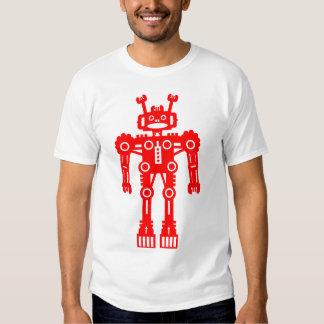 Robot Mk I - (rojo) - modificado para requisitos p Playera