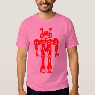 Robot Mk I - (rojo) - modificado para requisitos Playera