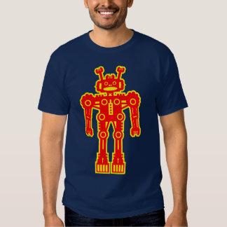 Robot Mk I - (rojo y amarillo) Playeras